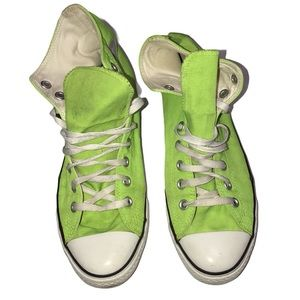 Converse Chuck Taylor All Star Neon Green - Size 9